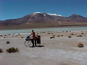 Near Collahuasi, Salar Michincha - (C) Victor Arenas